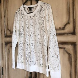 Tops - Long Sleeve Lace Top